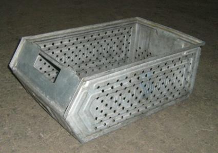 Cutii de depozitare metalice, zincate Tip SB-1257